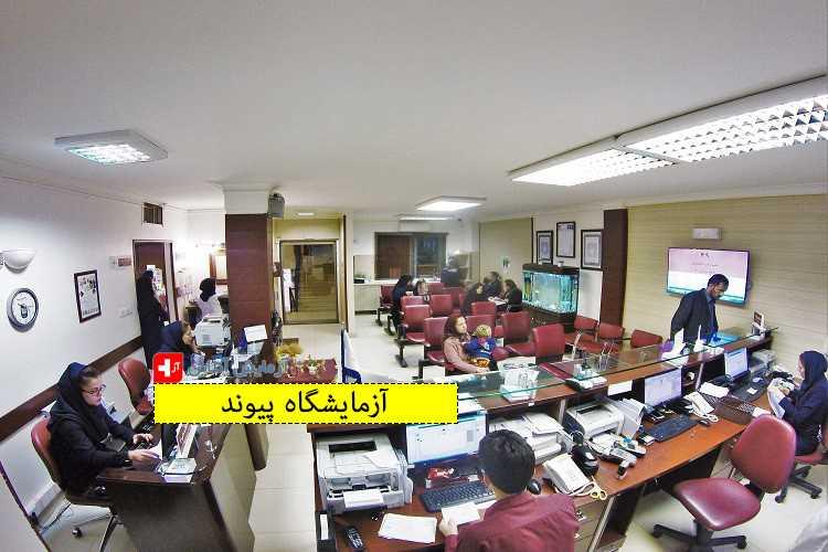 آزمایشگاه تشخیص طبی و تخصصی پیوند