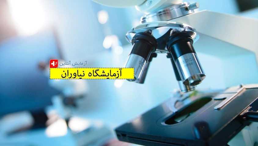 آزمایشگاه تشخیص طبی نیاوران