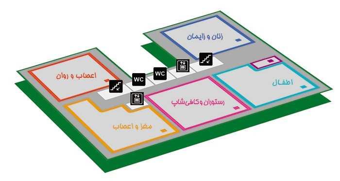 بیمارستان بقیة الله تهران طبقه 1