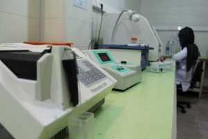 بخش های آزمایشگاه آریا