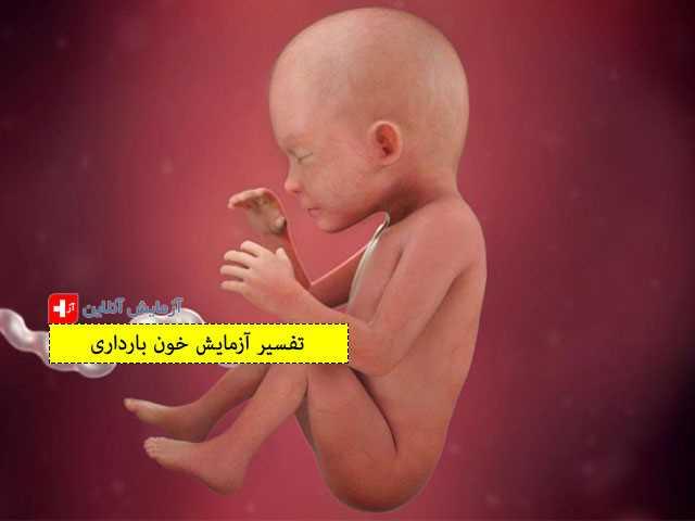 تفسیر آزمایش خون بارداری