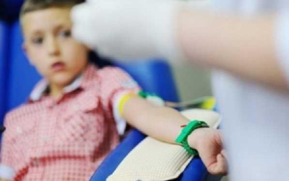 آزمایش خون در کودکان