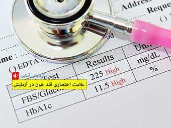 علامت اختصاری قند خون در آزمایش